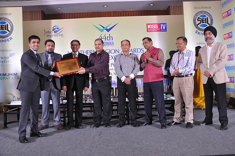 JLC wins the Engineering Export Promotion Council (EEPC) India National Award – Star Performer (Northern Region) - Non Ferrous Metals