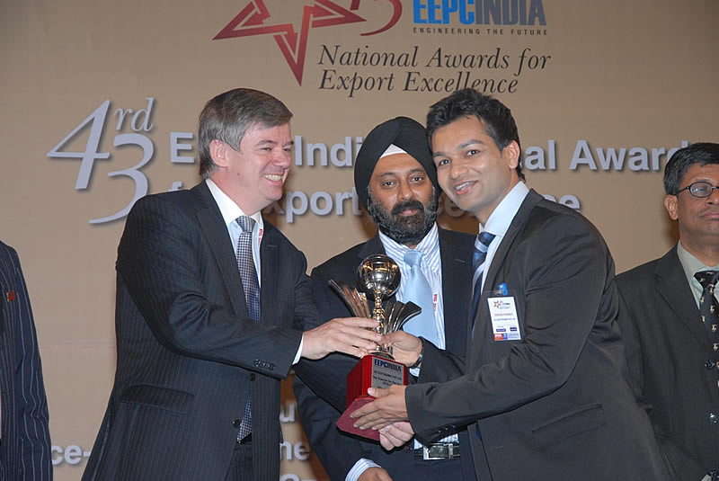 JLC Nicekl Alloys wins the EEPC India National Award for 2010-11 – Top Exporter Silver Trophy given By Engineering Export Promotion Council (EEPC), India