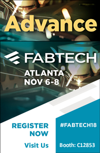 FABTECH 2016 Visit us in Booth N4515 from November 16-18, 2016 at Las Vegas Convention Center, Las Vegas, NV